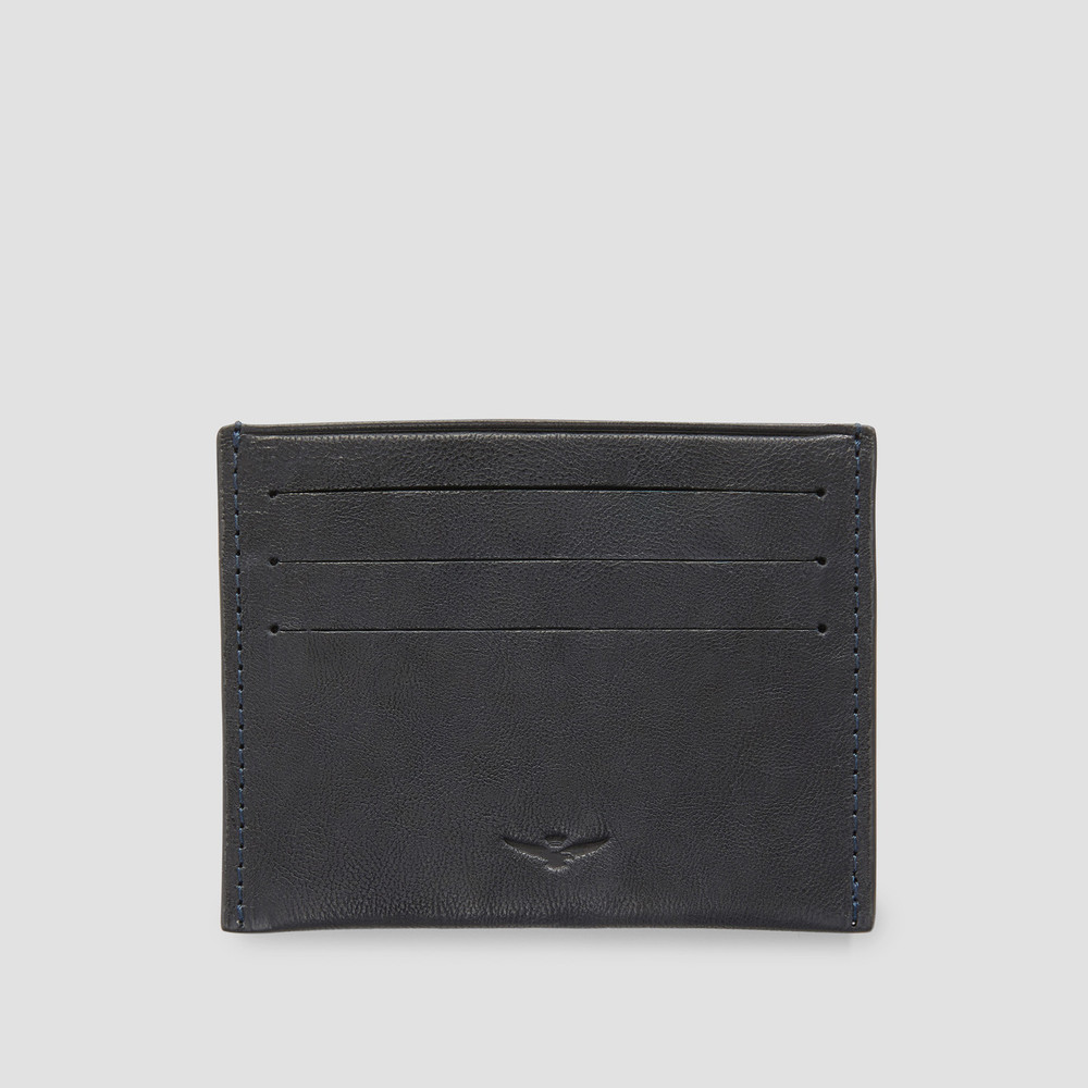 Zion Navy Card Holder