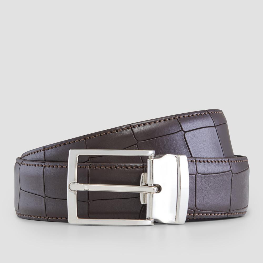 Tilman Croc. Brown Belt