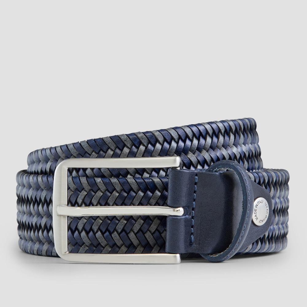 Crandall Navy/Grey Belt