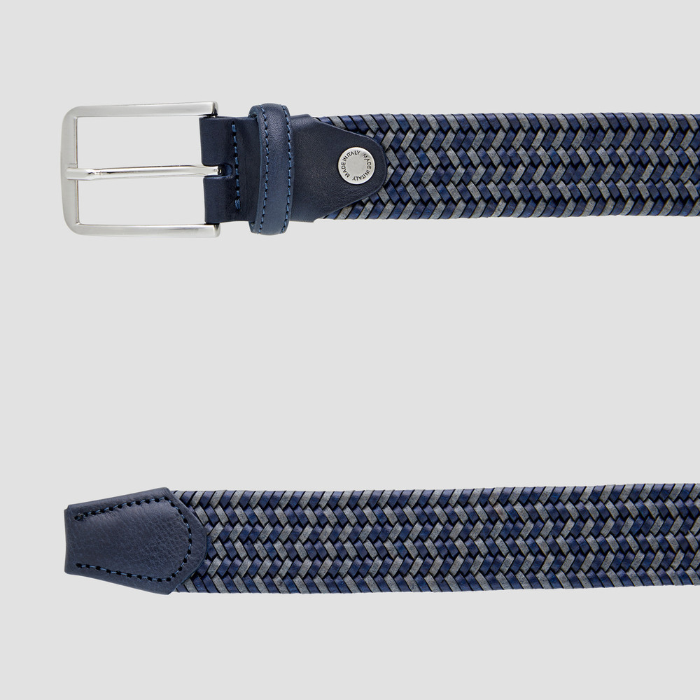 Crandall Navy/Grey Belt