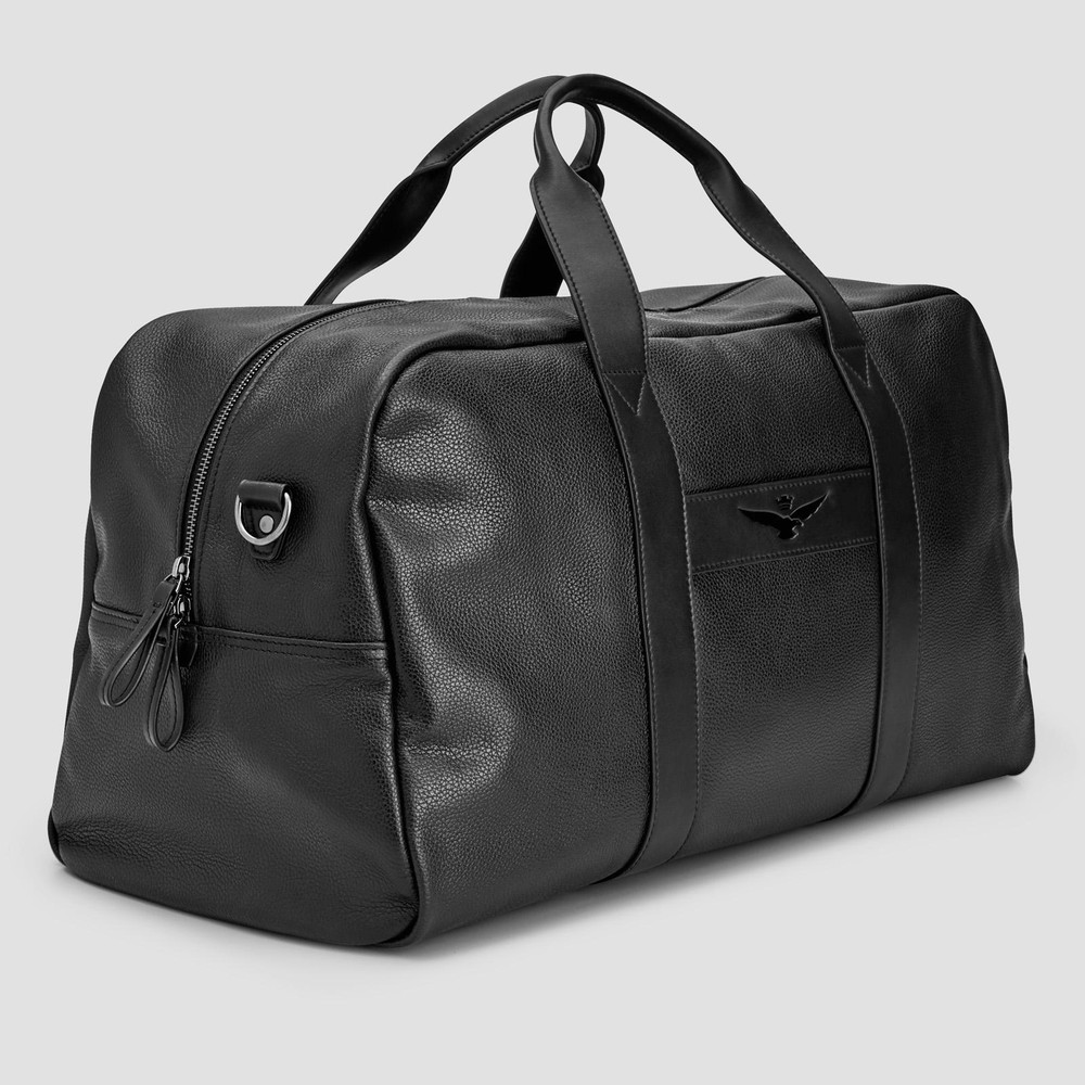 Barkley Black Overnight Bag