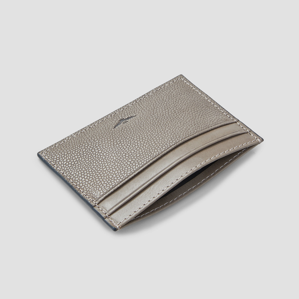Clunes Grey Card Holder