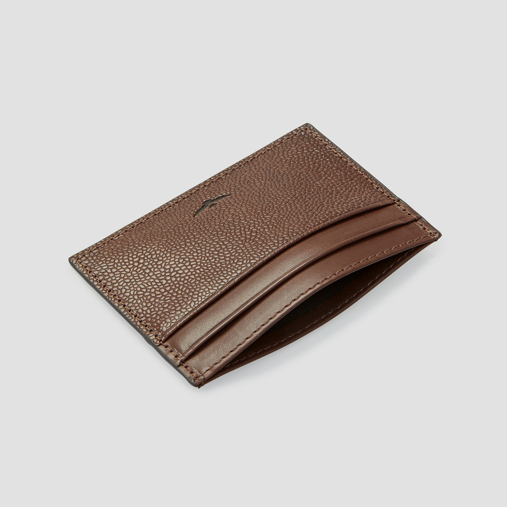 Clunes Brown Card Holder