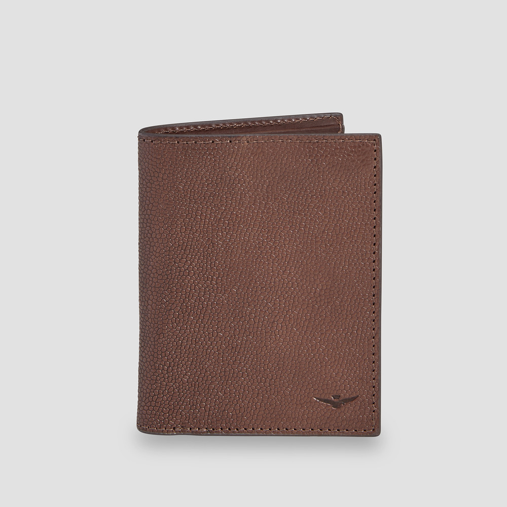 Clunes Brown Card Wallet