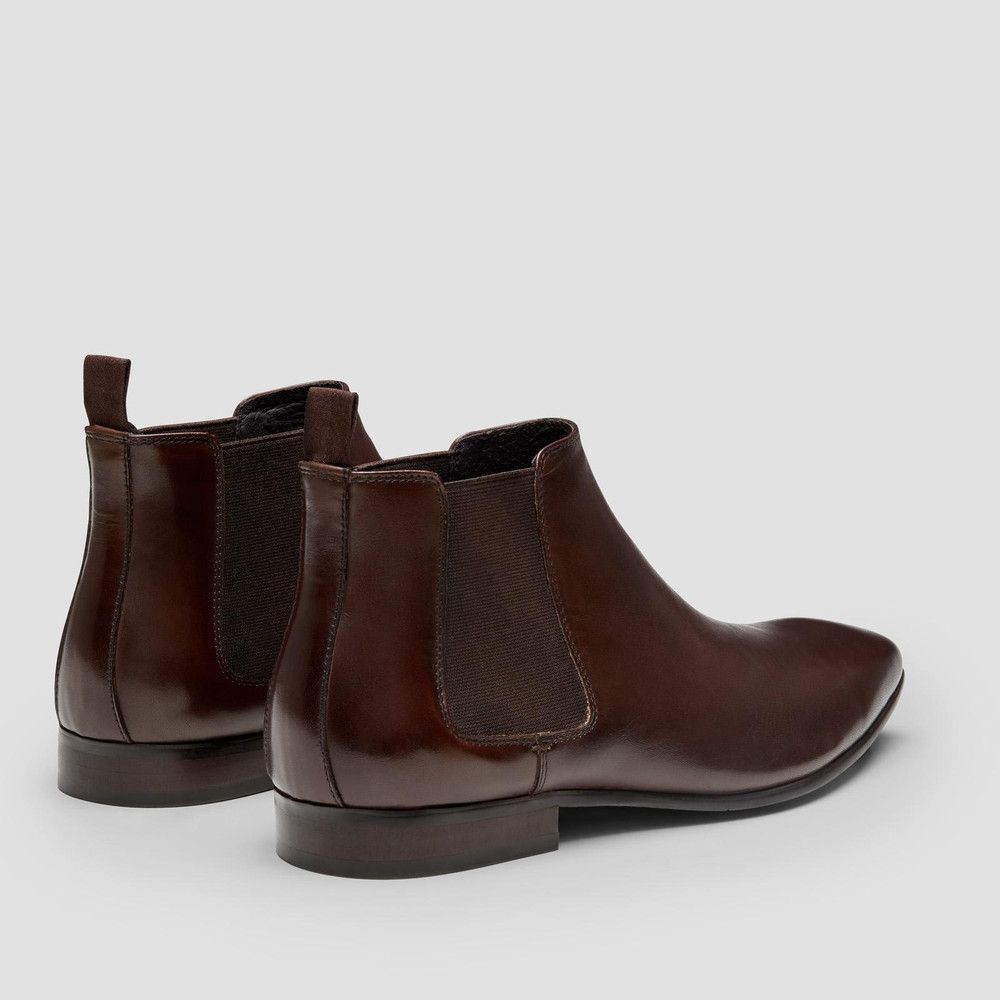 Walker Brown Chelsea Boots