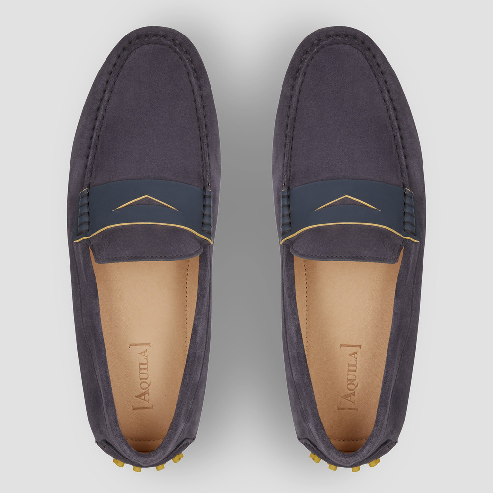 Monaco Brown Driving Shoes