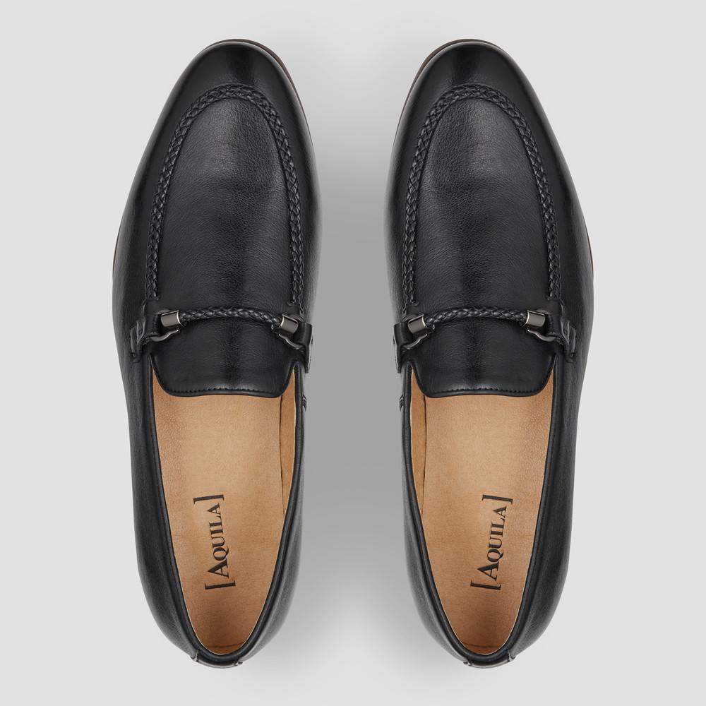 Jerardo Black Loafers