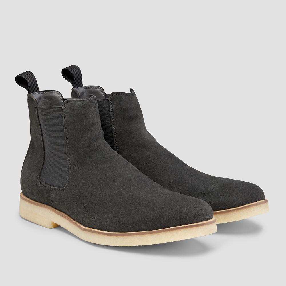 Soho Charcoal Chelsea Boots