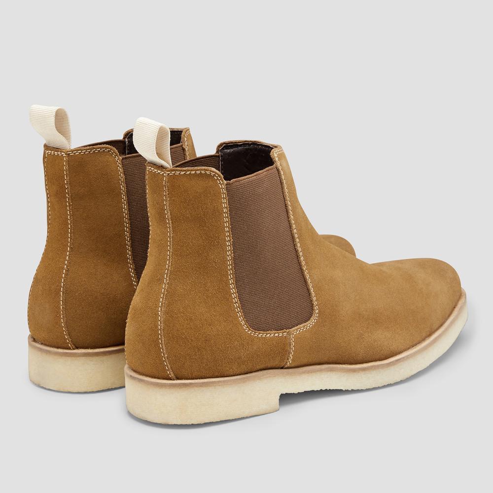 Soho Tan Chelsea Boots