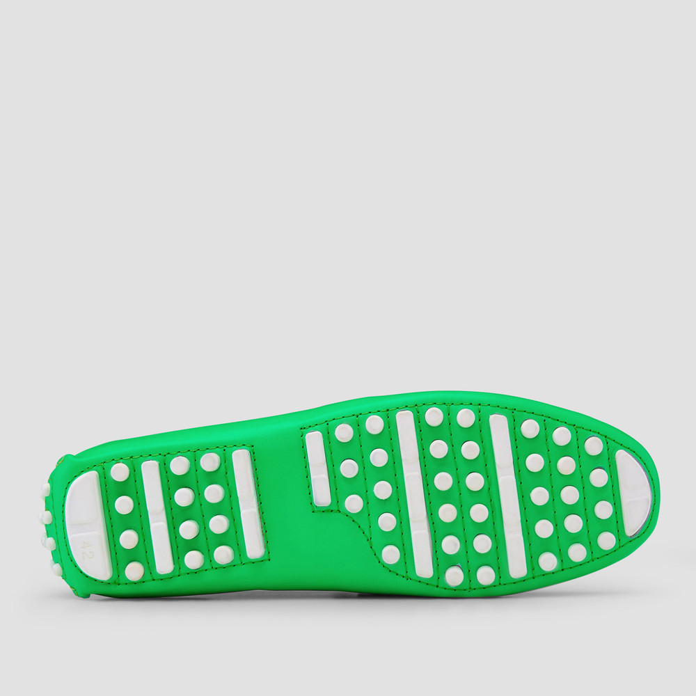 Luciano Green Driving Shoes