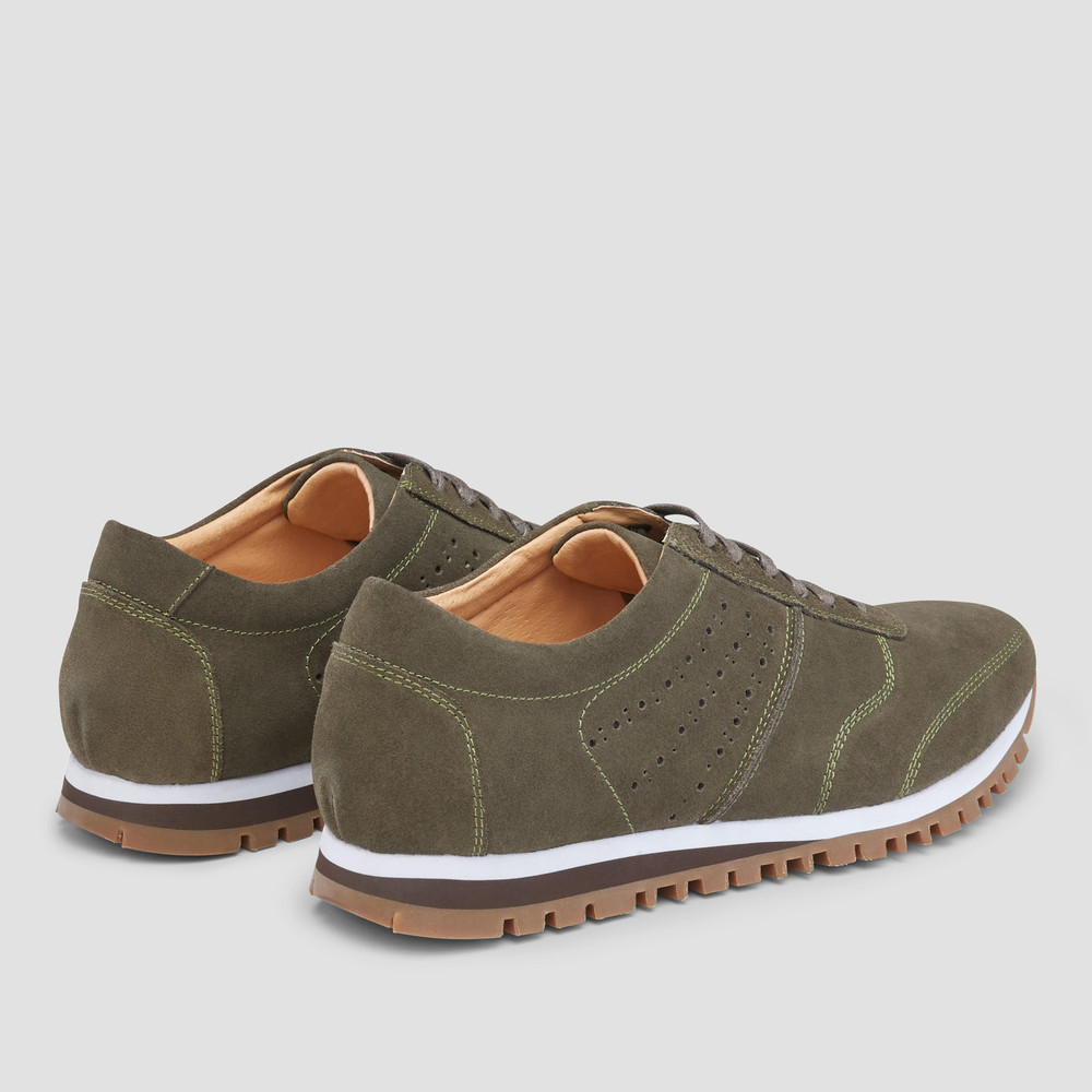 Sampson Olive Sneakers