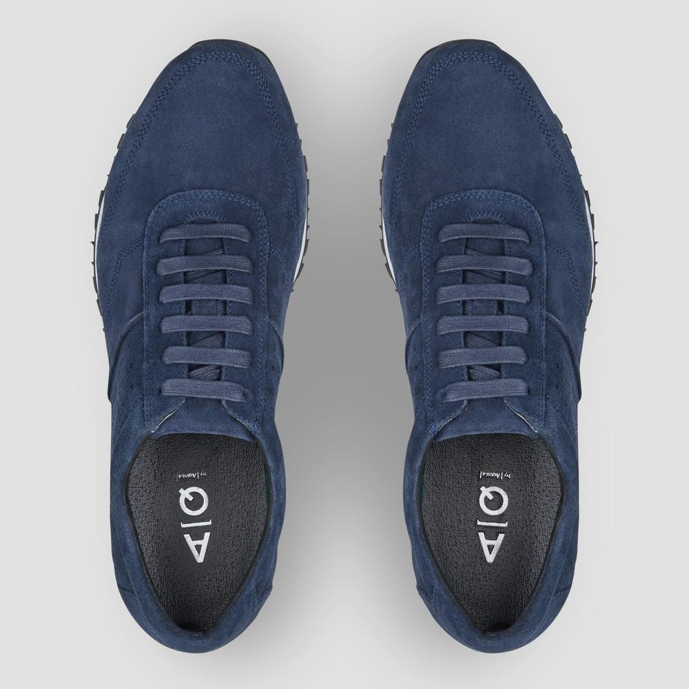Sampson Navy Sneakers