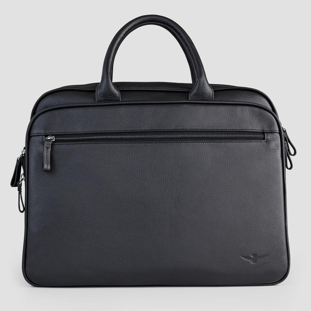 Barkley Black Briefcase