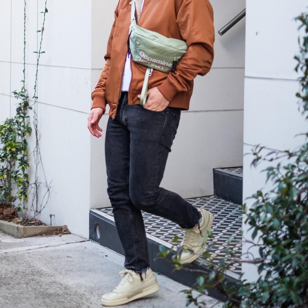 Aquila X Fila - T1 Mid Fila Cream/Gold Sneakers