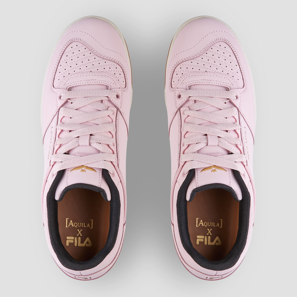 Aquila X Fila - Targa Chkpk/Gr/Metgold Sneakers
