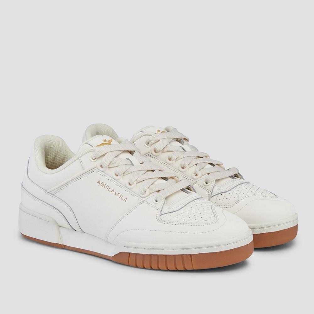 Aquila X Fila - Targa Gdna/Gr/Metgold Sneakers