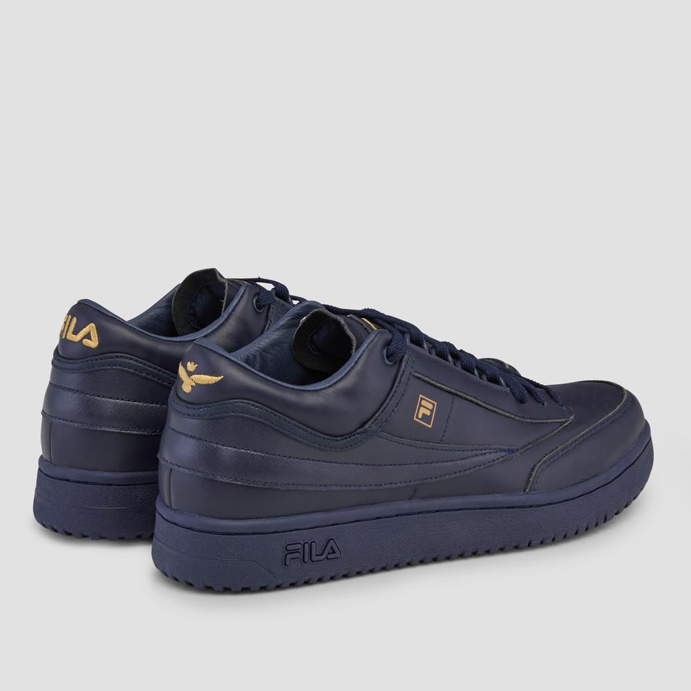 Aquila X Fila - T1 Mid Dark Navy Sneakers