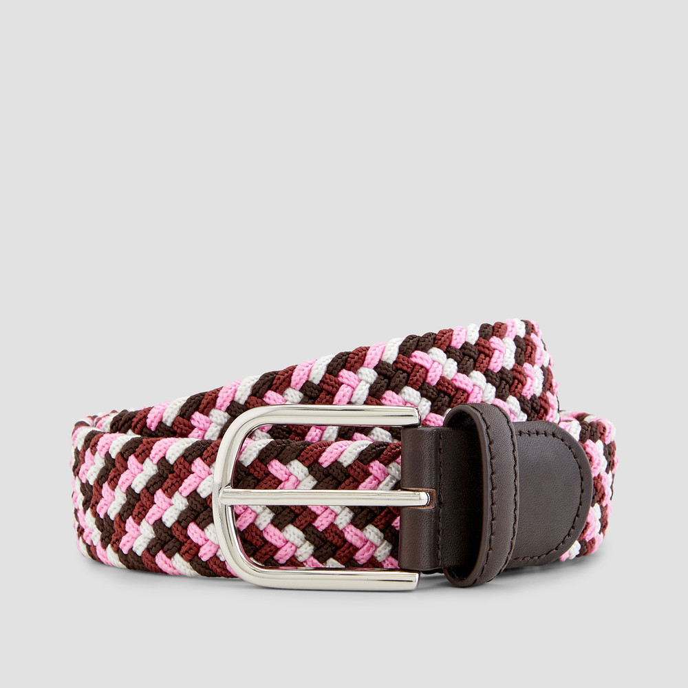 Albright Brown/ Pink Belt