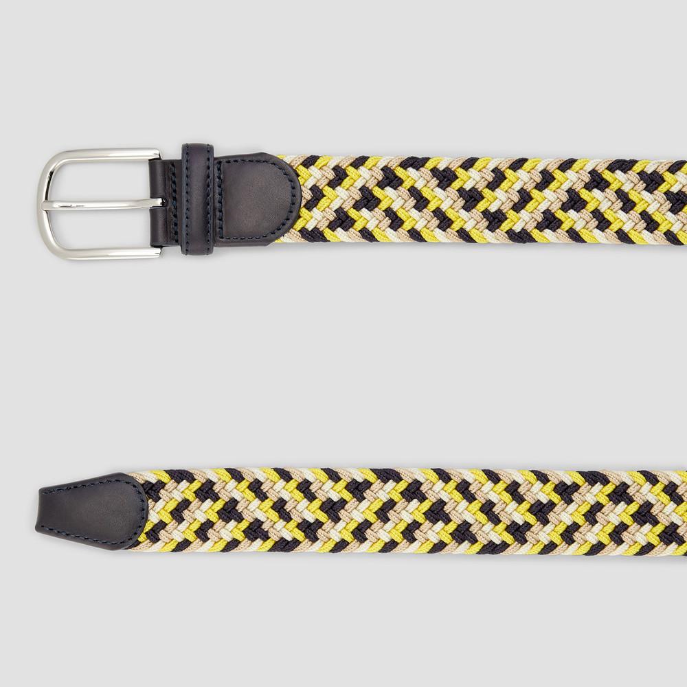 Albright Dk Navy/ Yellow Belt