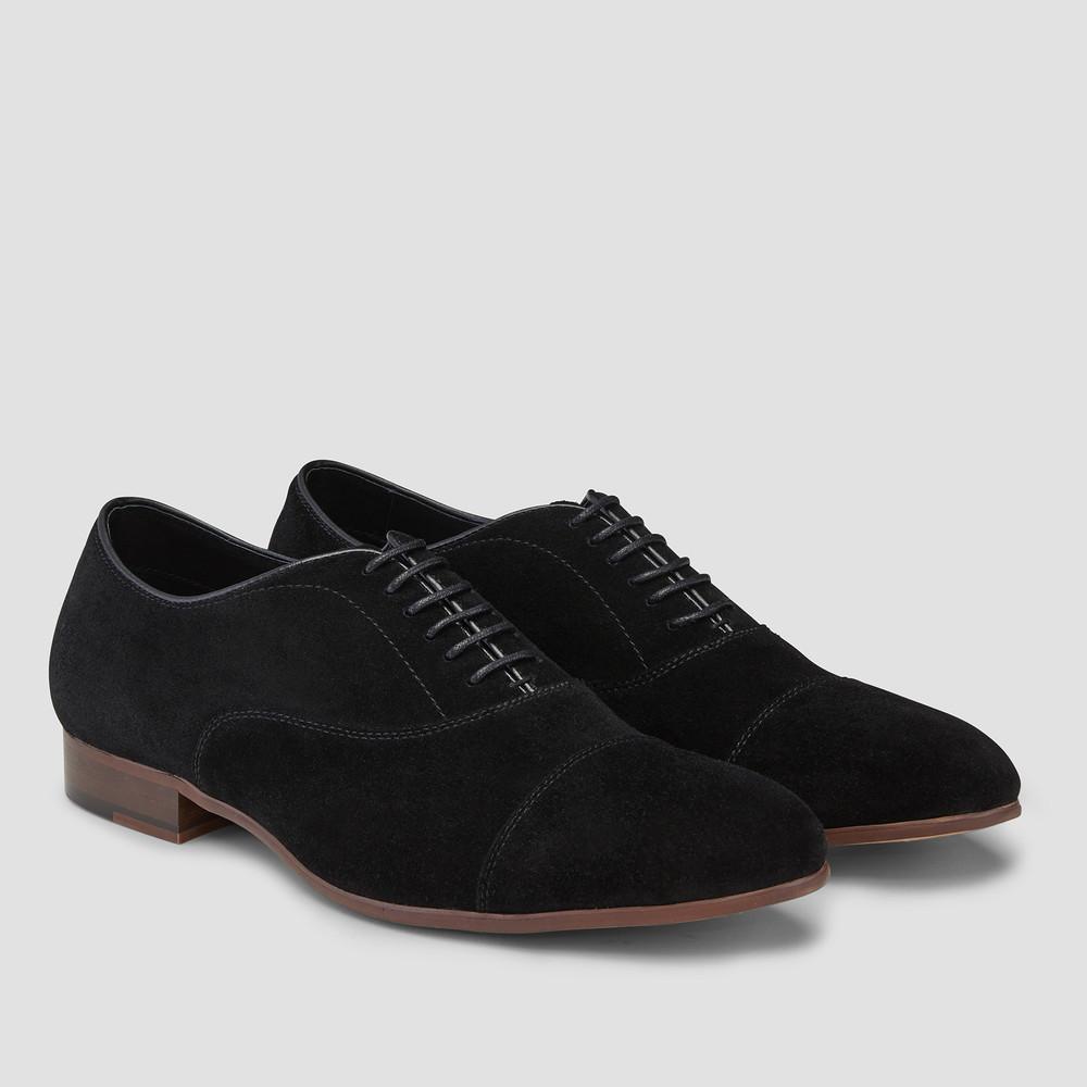 Huxley Black Oxford Shoes