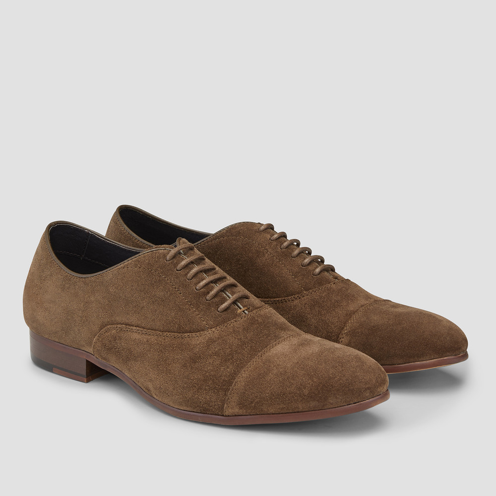 Huxley Khaki Oxford Shoes