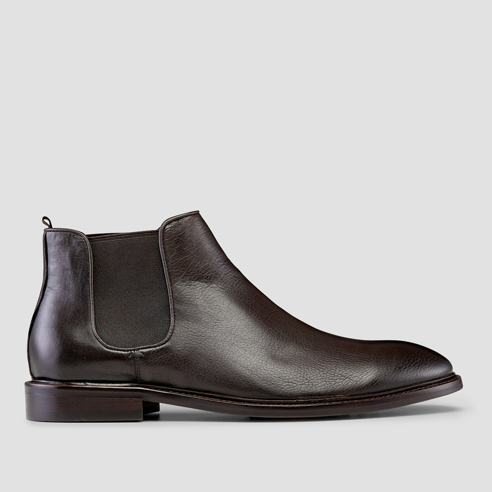 Pellegrini Brown Chelsea Boots