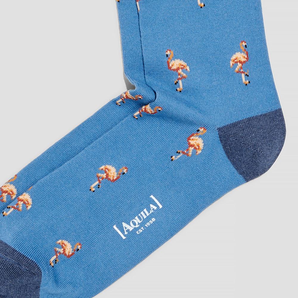 Nash Steel Blue Flamingo Socks