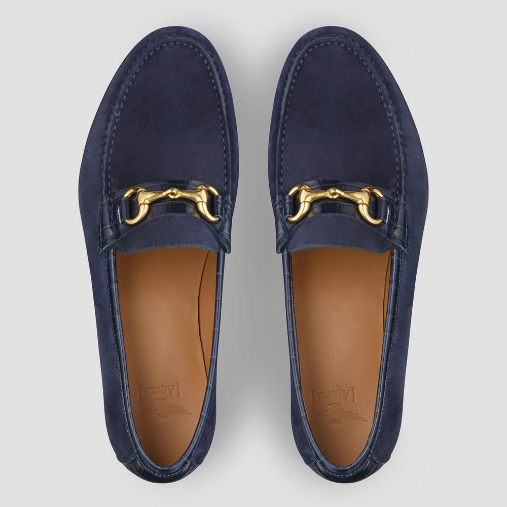 Reddick Blue Loafers