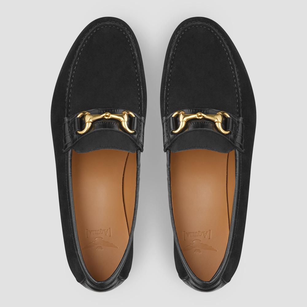 Reddick Black Loafers
