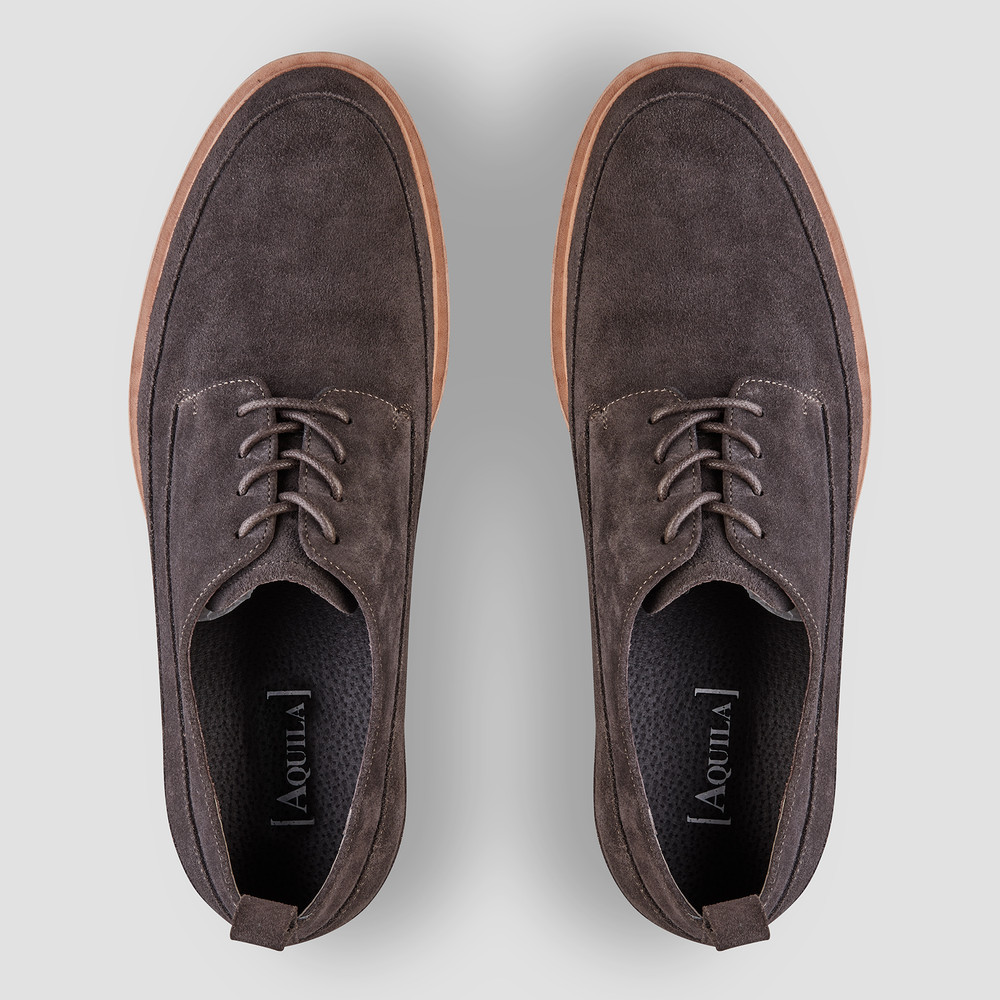 Brenner Charcoal Casual Shoes