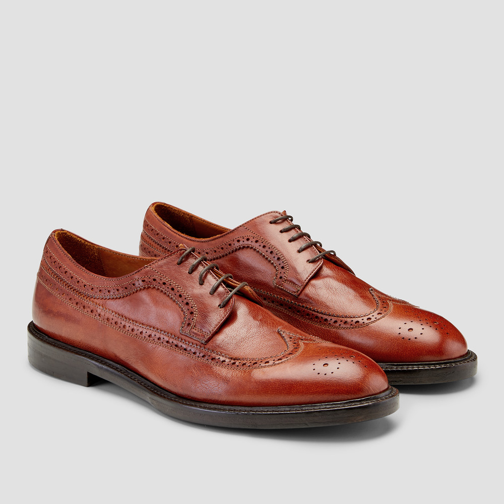 latest first rate new list Sinclair Tan Brogues - Aquila