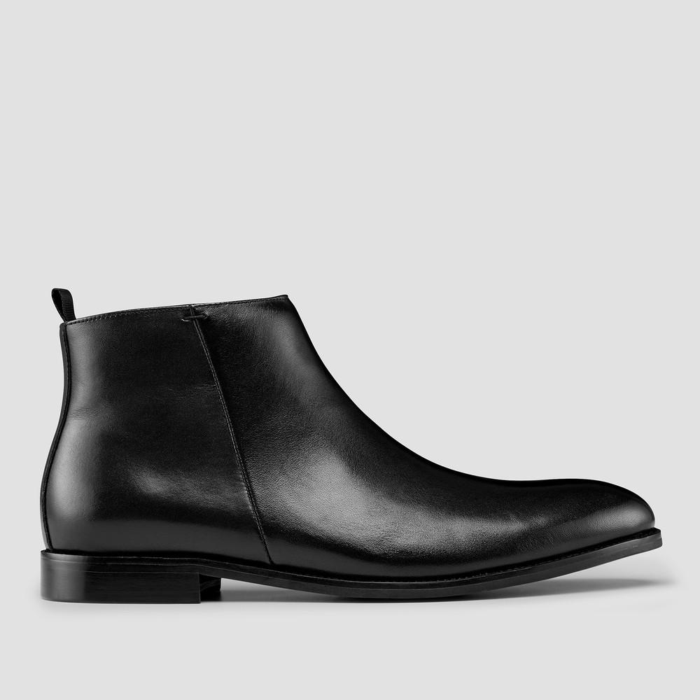 Islington Black Ankle Boots