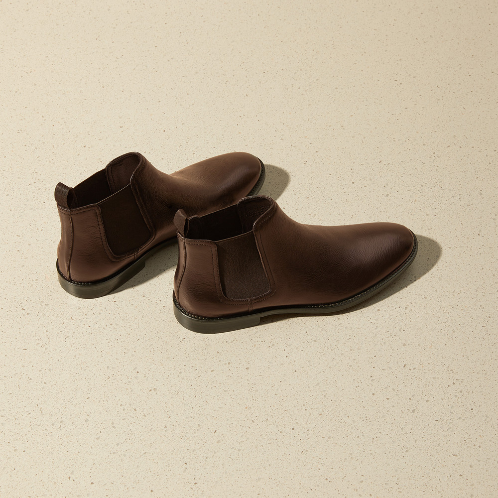 Quintana Brown Chelsea Boots