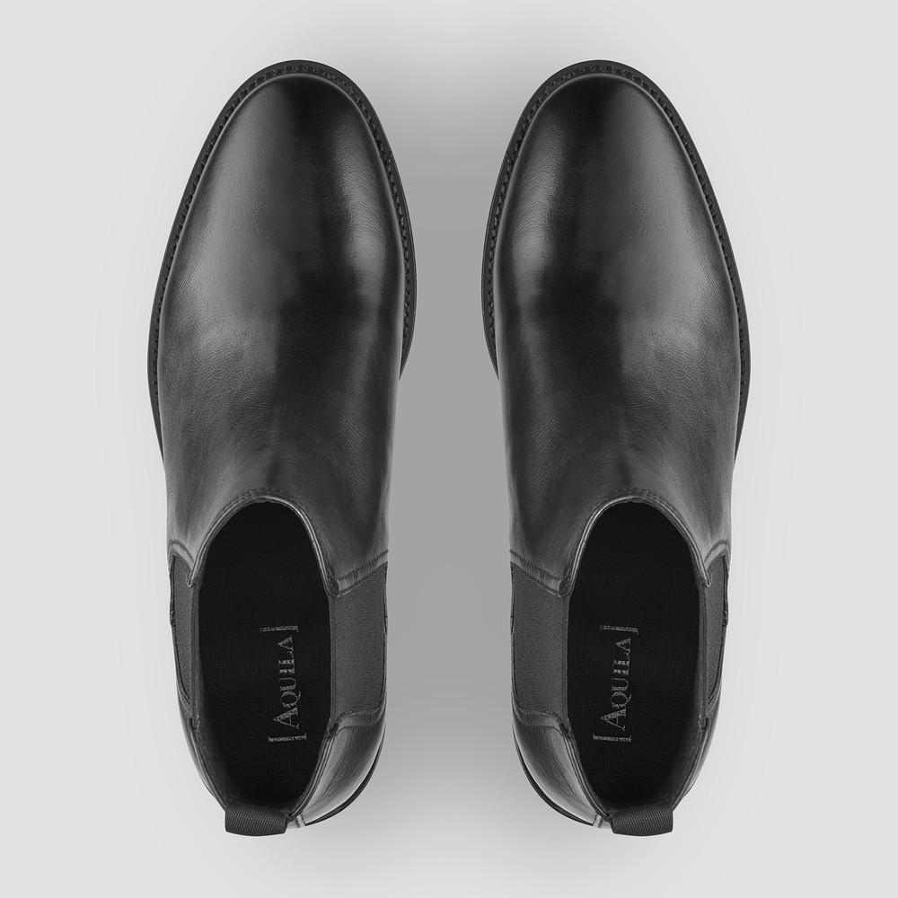 Quintana Black Chelsea Boots