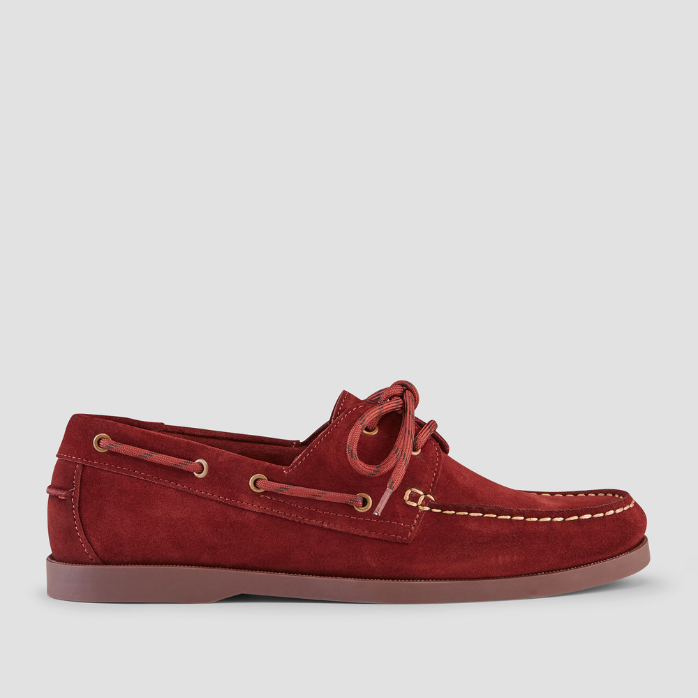 Berlin Bordo Boat Shoes