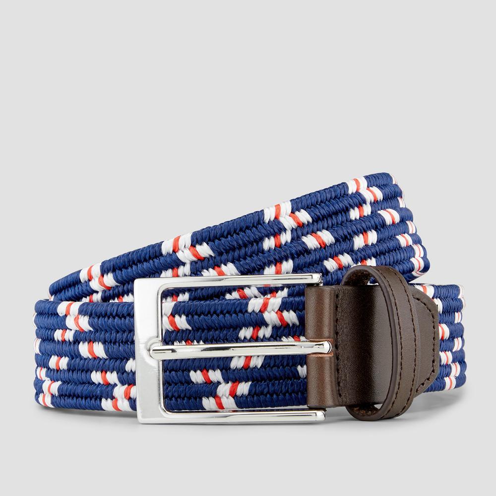 Lindsay Blue/ White/ Red Belt