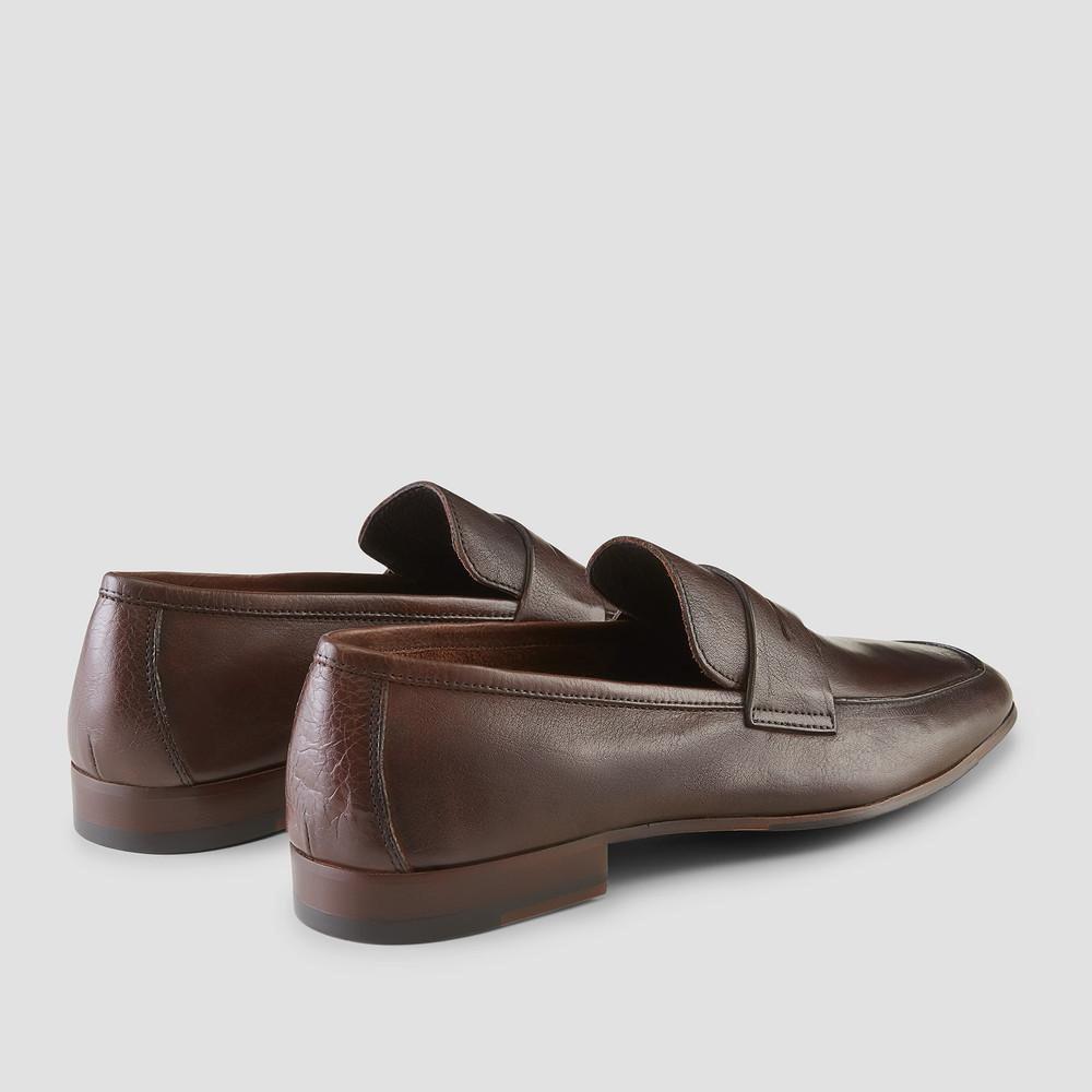 Eduardo Brown Penny Loafers