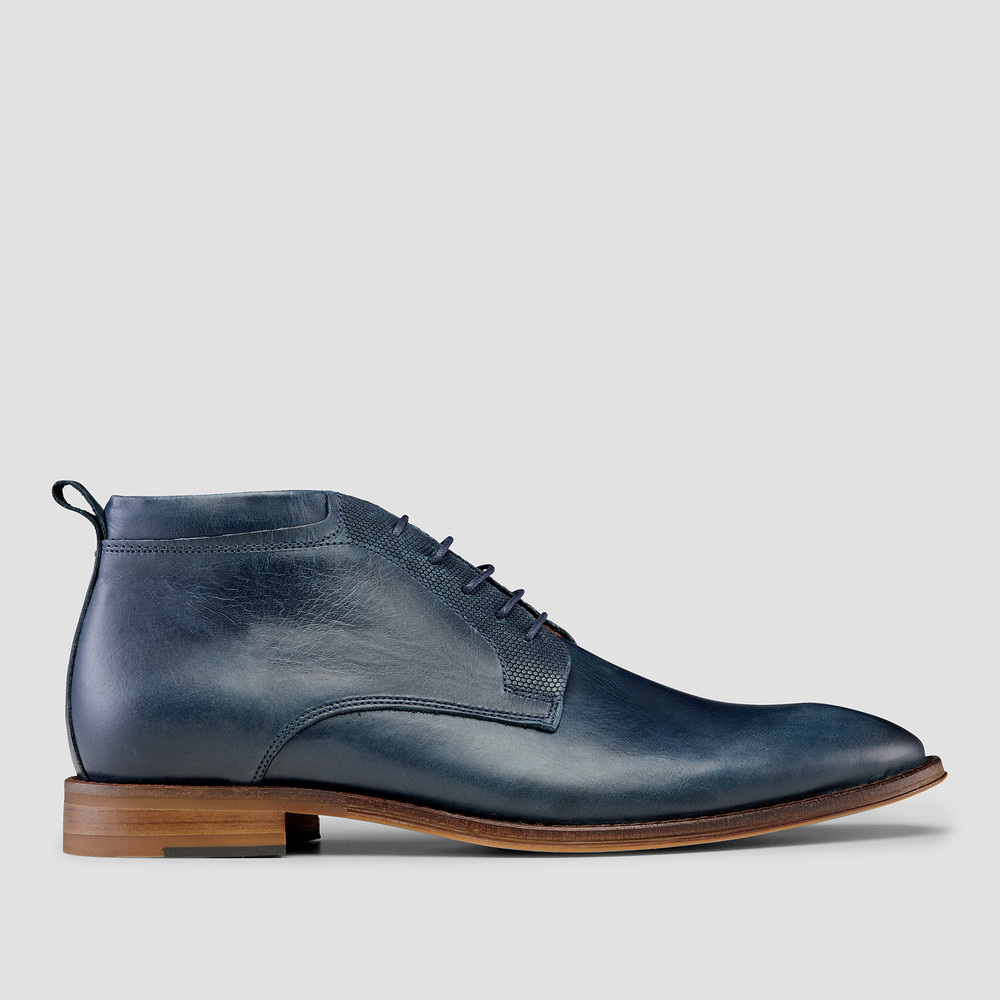 Wilkinson Navy Ankle Boots