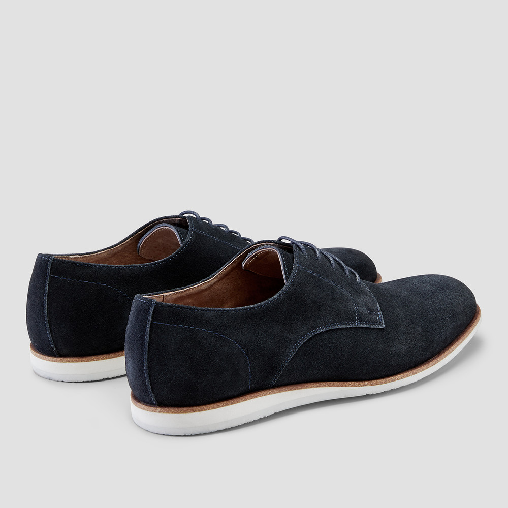 Neal Navy Derby Shoes