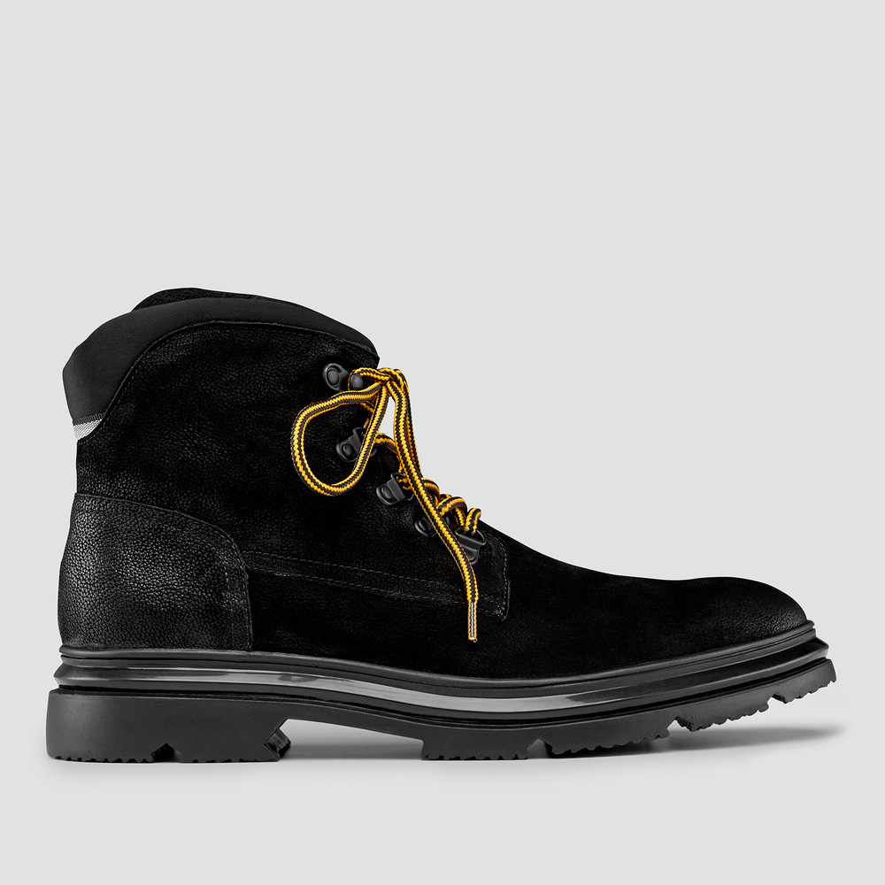 Norse Black Hiking Boots