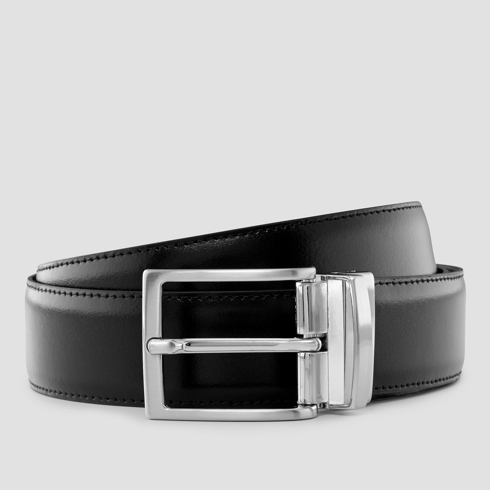 Macoy Black/Tan Belt