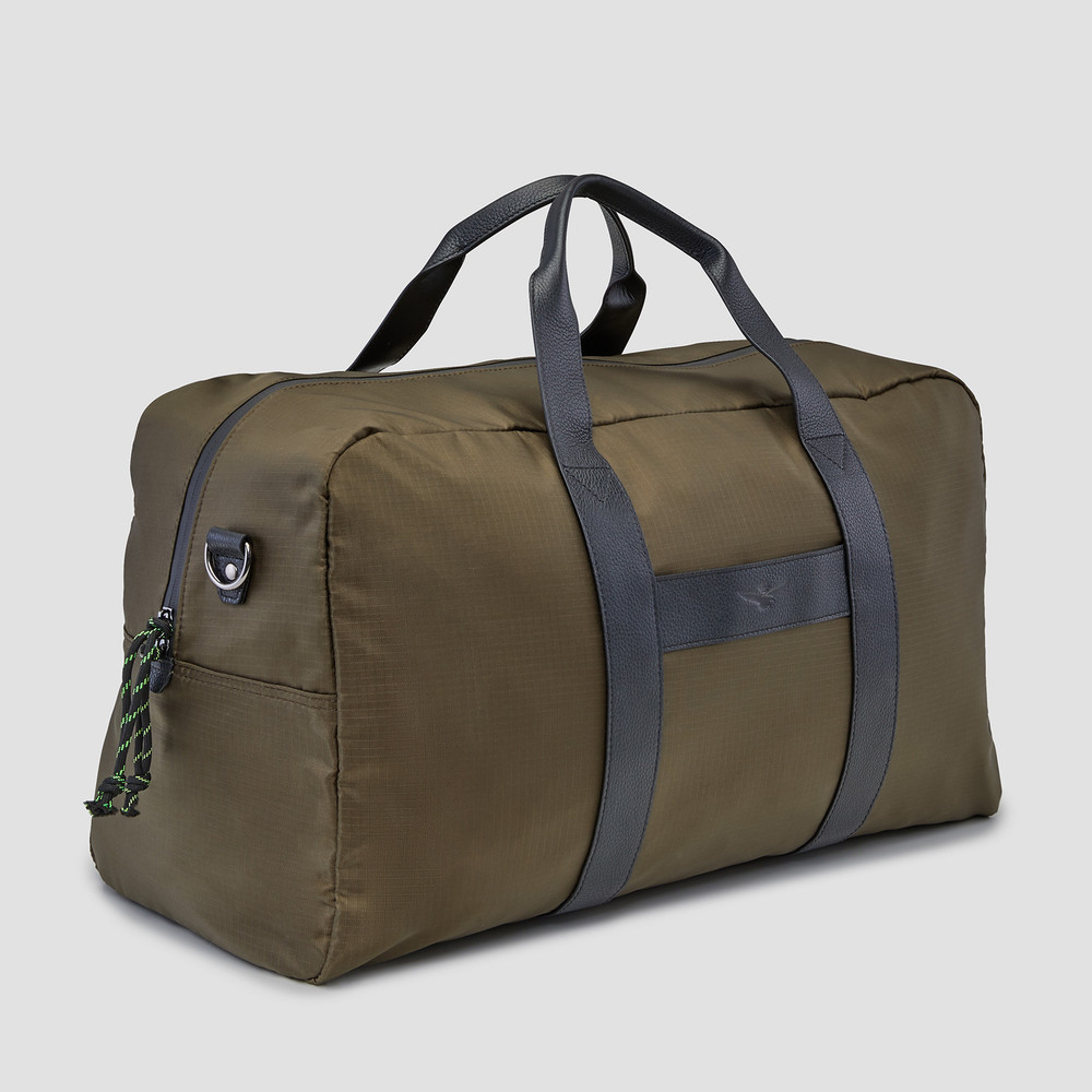 Barkley Khaki Overnight Bag