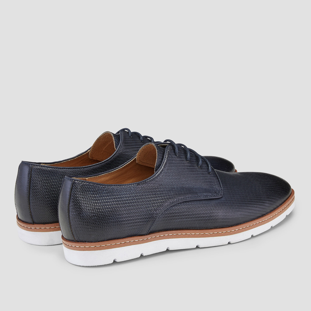 Blaire Navy Derby Shoes