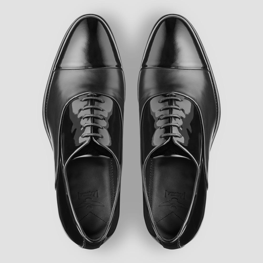 Hilton Black Oxford Shoes