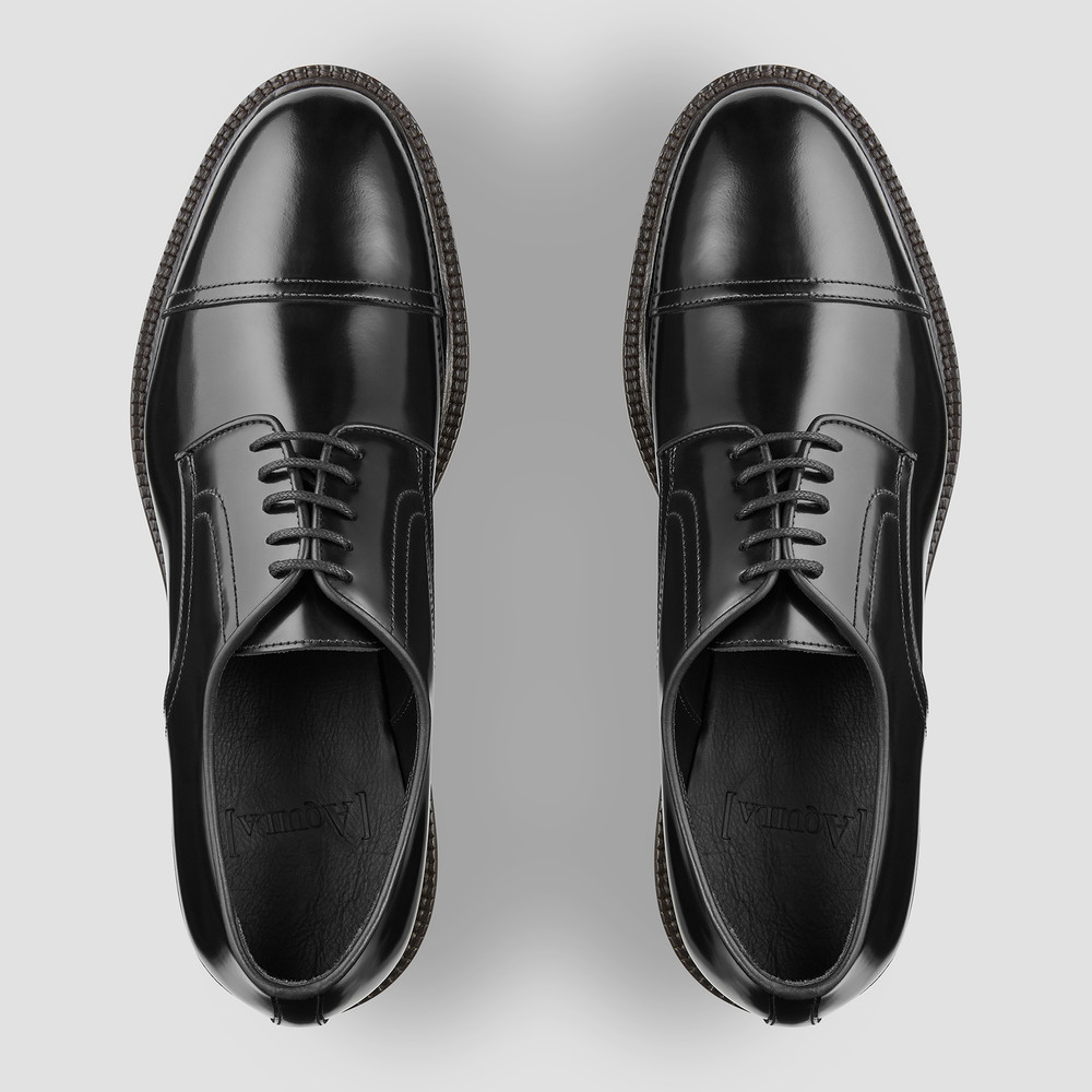 Larson Black Dress Shoes