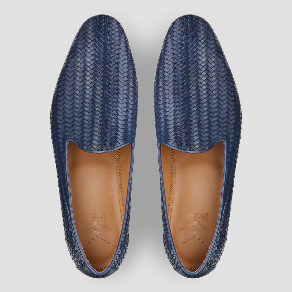 Demarcus Navy Loafers