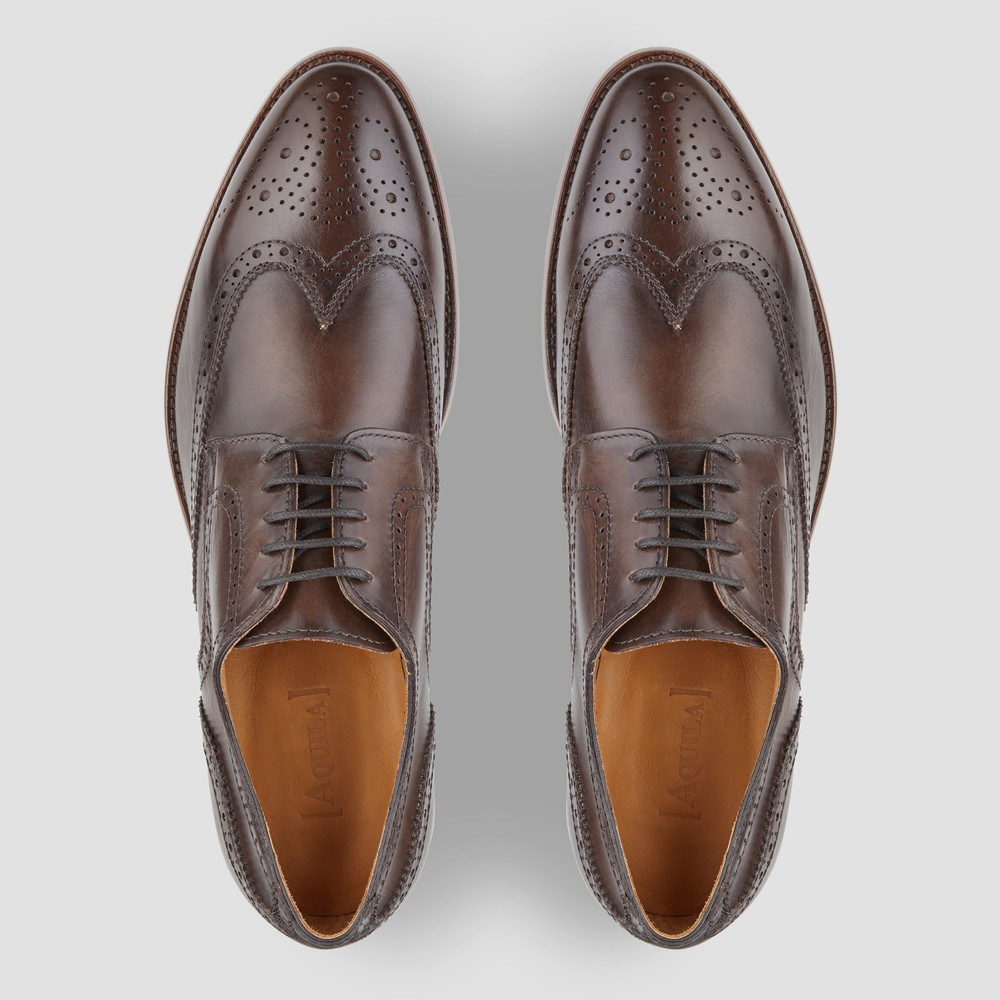 Daley Chocolate Brogues