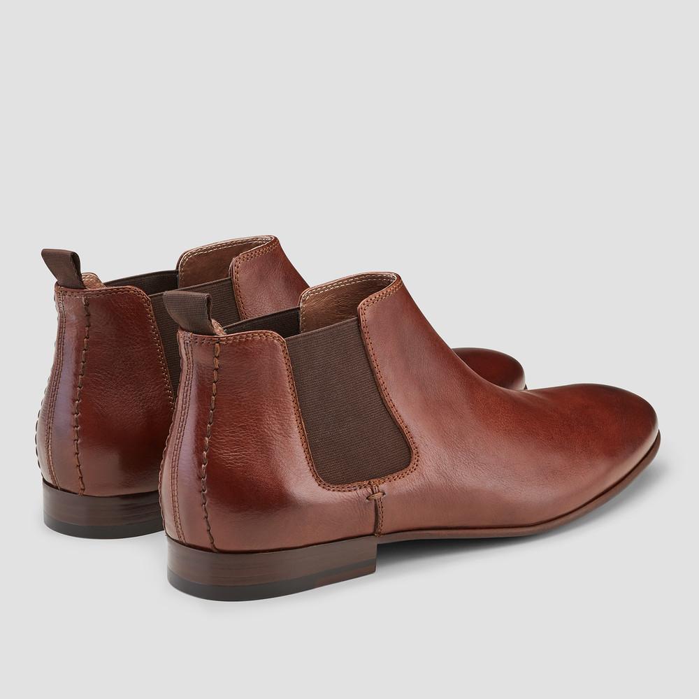 Arsenal Cognac Chelsea Boots