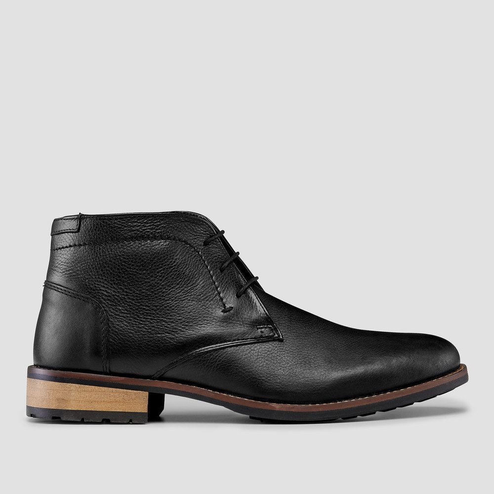 Donald Black Desert Boots