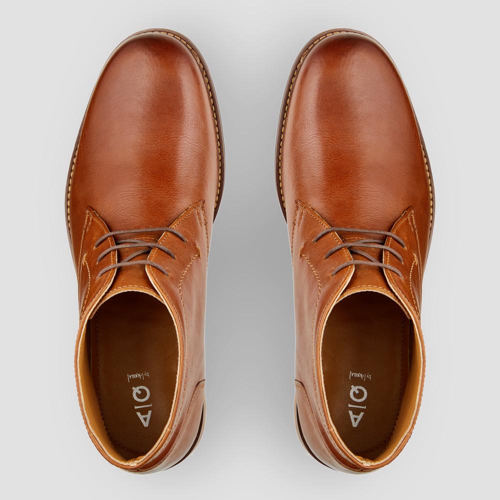 Donald Tan Desert Boots